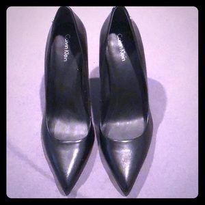 Calvin Klein Heels- Black